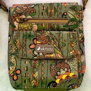 Cute Sakroots Crossbody purse.